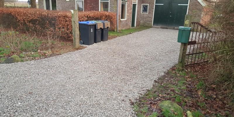 grindpad aanleg